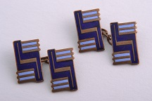 Cufflinks During The Art Deco Period