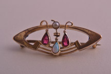 Old world fantasies, new art methods - Art Nouveau jewellery design