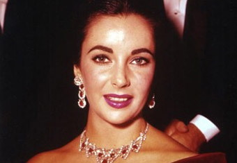 Elizabeth Taylor's Ruby and Diamond Cartier Se
