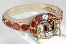 Queen Elizabeth I's Locket Ring