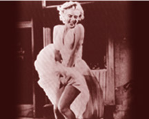 Relive the silver screen: Marilyn Monroe