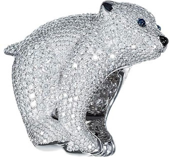 Polar Bear Ring From The Chopard Animal World Collection