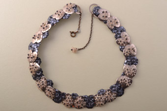 Vintage Necklace With Sequins