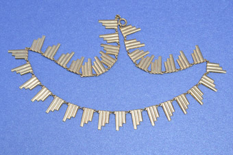 Art Deco Gilt Necklace