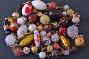 Venetian Glass Vintage Necklace