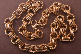 Gilt Vintage Necklace