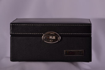 Leather Modern Jewellery Box