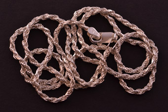 Sterling Modern Rope Chain