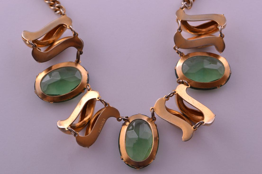 1950 S Vintage Brookraft Necklace Vintage Jewellery