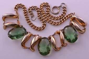 1950's Vintage Brookraft Necklace