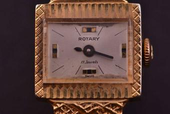 Gilt Retro 1960 S Rotary Watch Retro Jewellery Amanda
