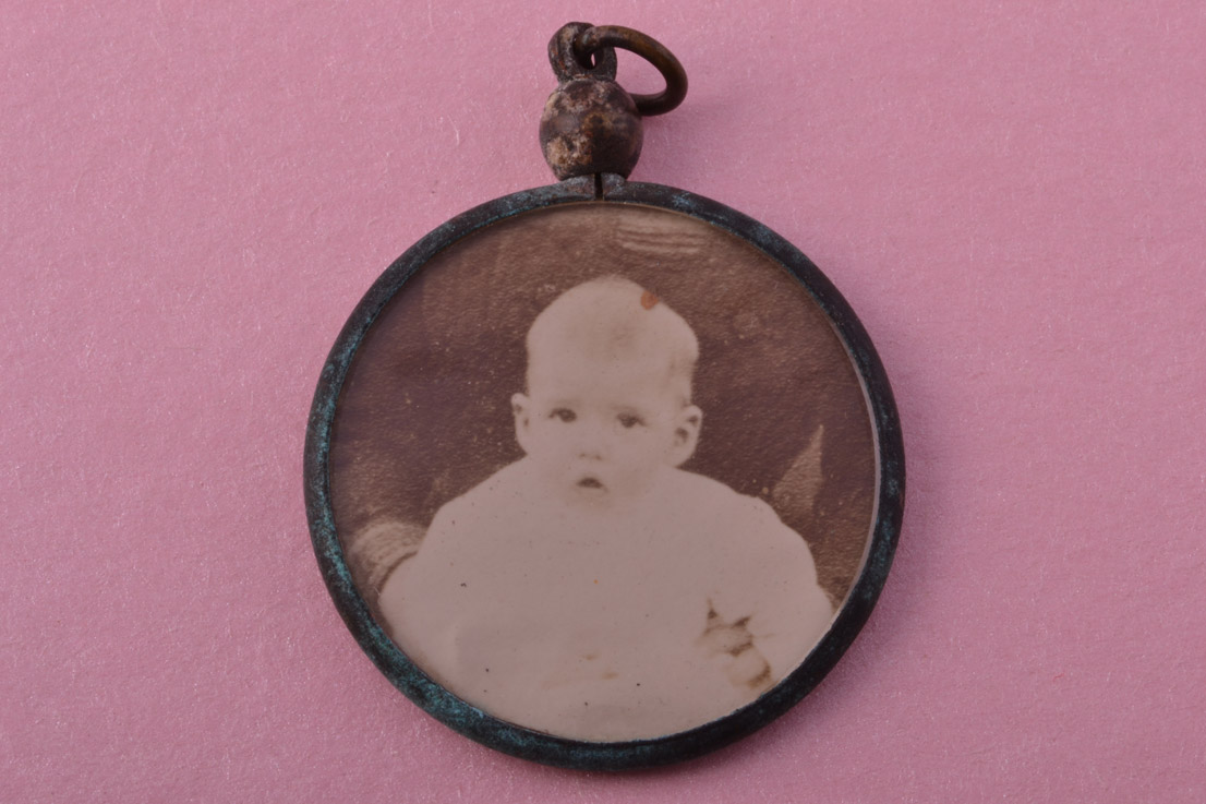 Victorian Locket With A Wonderful Patina
