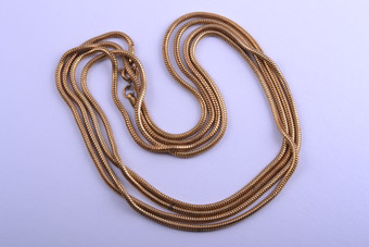 Vintage Gilt Necklace