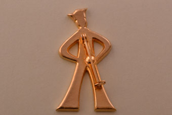 Vintage Sailor Brooch