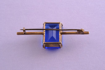 9ct Gold Retro Brooch