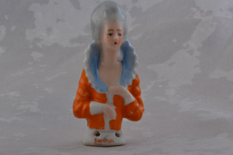 China Vintage Pincushion Doll
