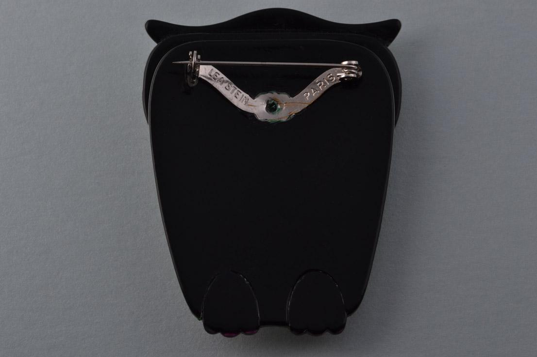 Lea Stein Owl Brooch Jewellery Amanda Appleby40b79