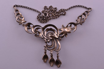 Silver Vintage Necklace