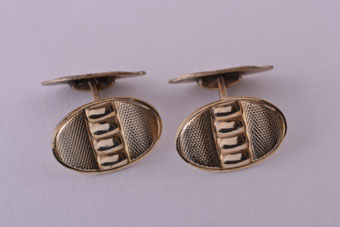 Gilt Retro Cufflinks
