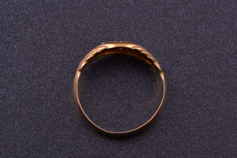 15ct Gold Edwardian Ring