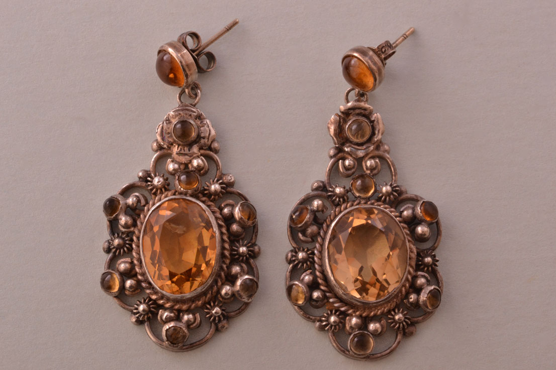 Silver Vintage Earrings