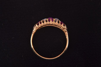 18ct Gold Victorian Ring