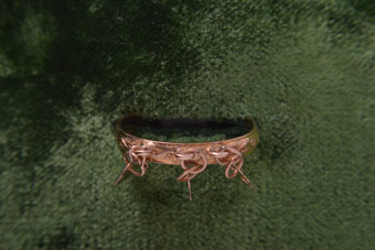 9ct Gold Victorian Ring
