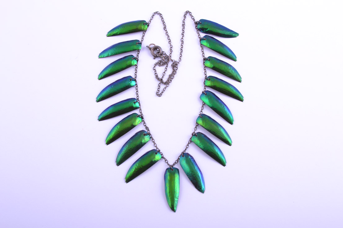 Insect Wings 1930's Necklace