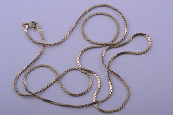 10ct Yellow Gold Link Chain