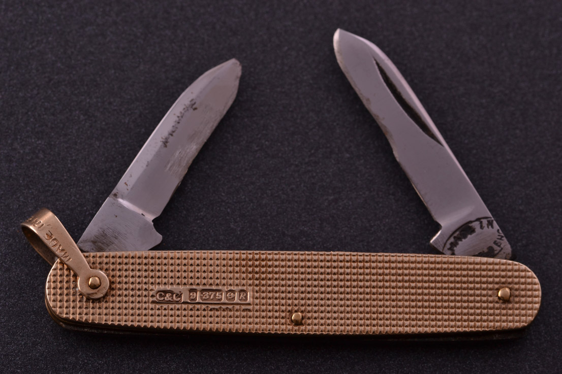 9ct Gold Vintage 1960 S Pen Knife Vintage Accessories Amanda Appleby655bb Antique Jewellery Amanda Appleby