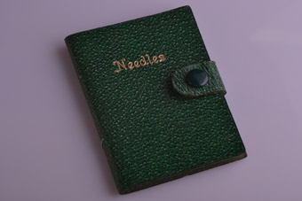 Leather Vintage Needle Case