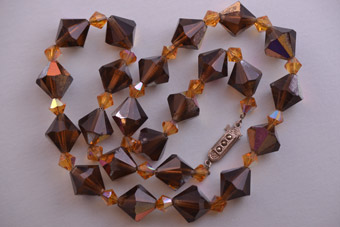Crystal 1930's Art Deco Necklace