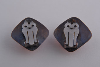 Retro Clip On Earrings