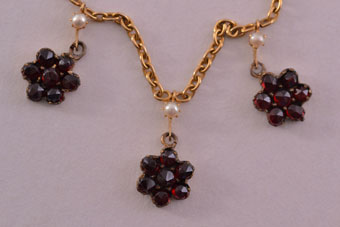 Gold Victorian Necklace