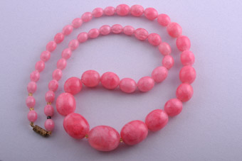 Plastic 1950's Pink Necklace