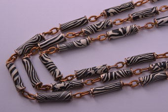 Vintage 3-Strand Necklace