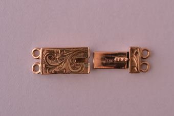 9ct Gold Victorian Clasp