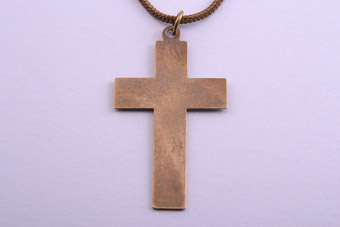 Enamel Vintage Cross