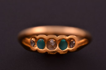 Gold Victorian Ring