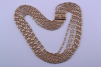Gilt 1930's Necklace