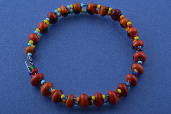 African Bangle With Lucky Beans