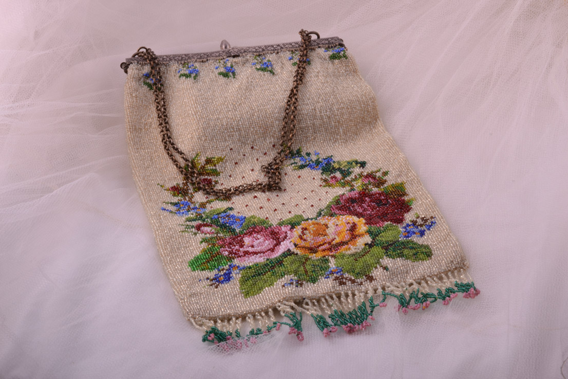 Beaded Victorian Purse / Handbag