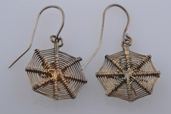 Victorian Spider Earrings