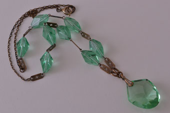 Crystal Art Deco Necklace