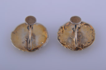 Victorian Screw Earrings