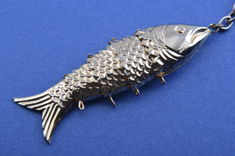 Gilt Fish Pendant