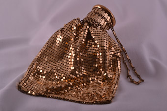 Chainmail 1950's Purse / Handbag