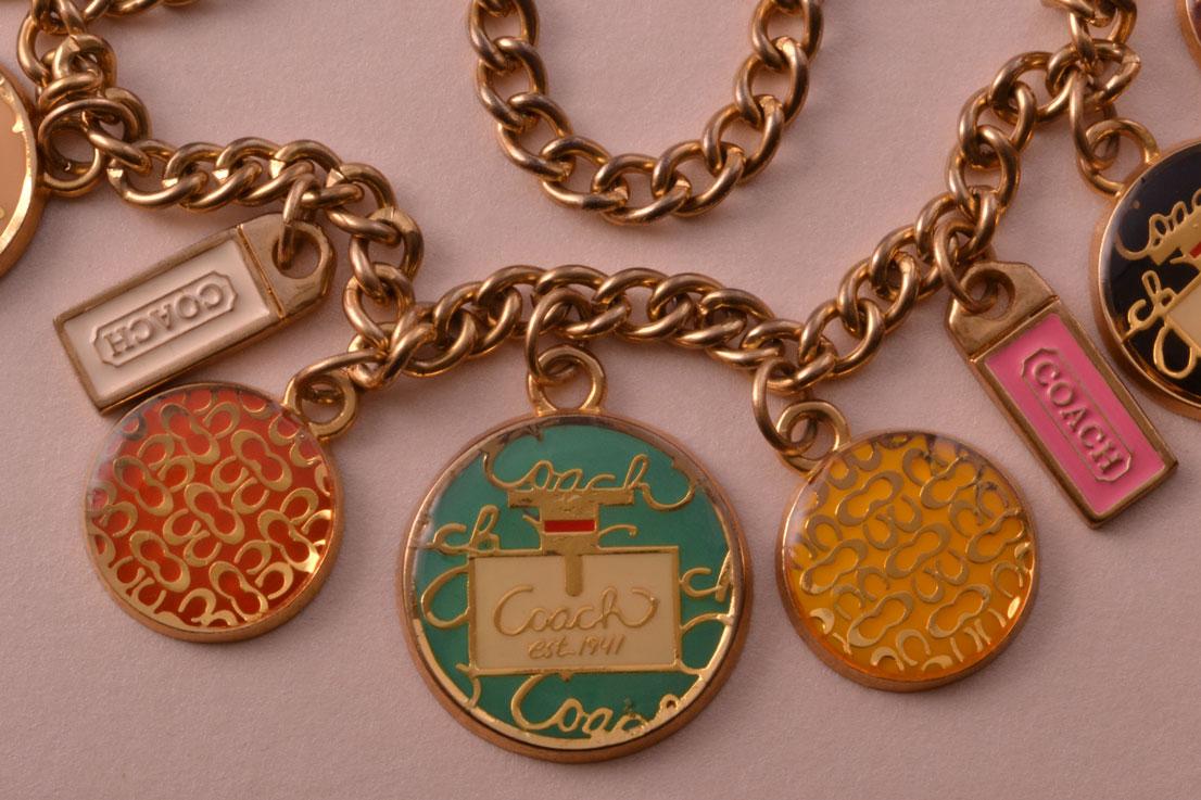 Gilt Vintage Coach Necklace Vintage Jewellery Amanda