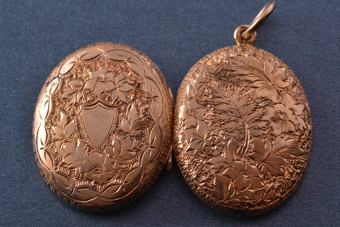 Gold Victorian Locket