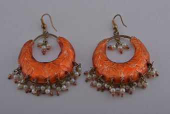 Oriental Hook Earrings